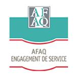 La marque AFAQ Engagement de service
